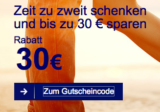 30 € Lufthansa Gutschein