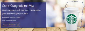 Starbucks Visa NFC